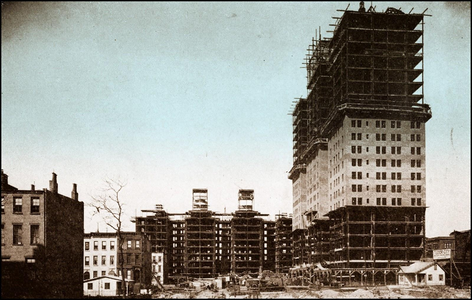 Tudor city construction jpg